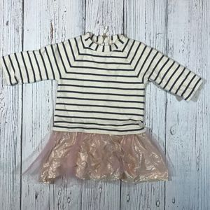 Girls Crewcuts French Terry Dress